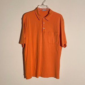J. McLaughlin Short Sleeve Polo Size Large